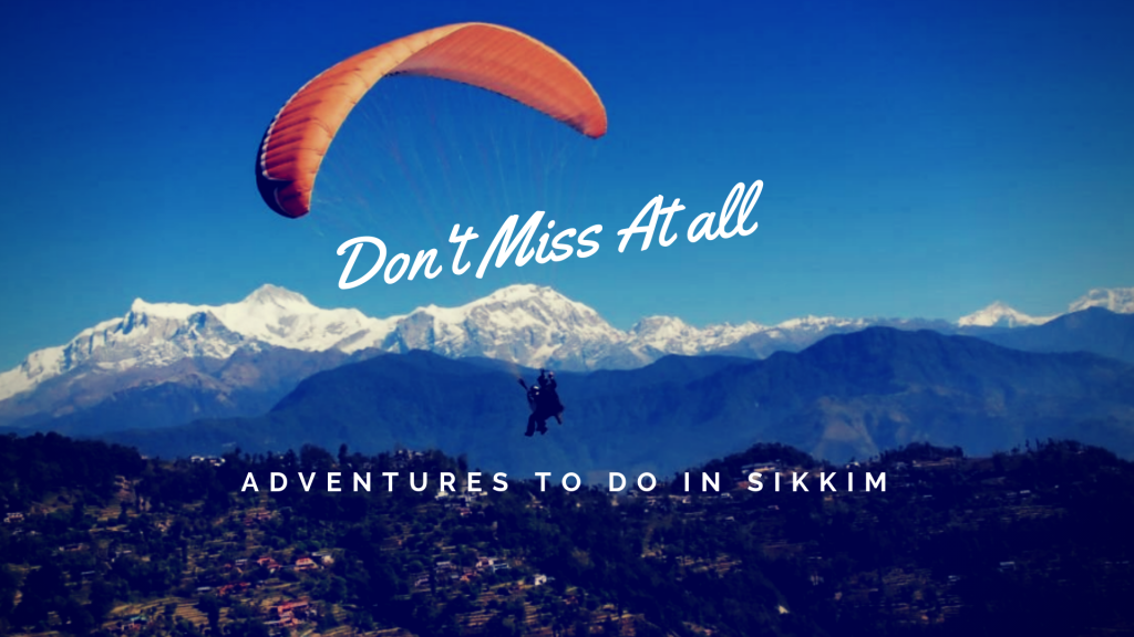 Paragliding in Lachng