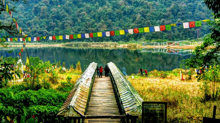 Khechopalri Lake is created the elgance in West Sikkim