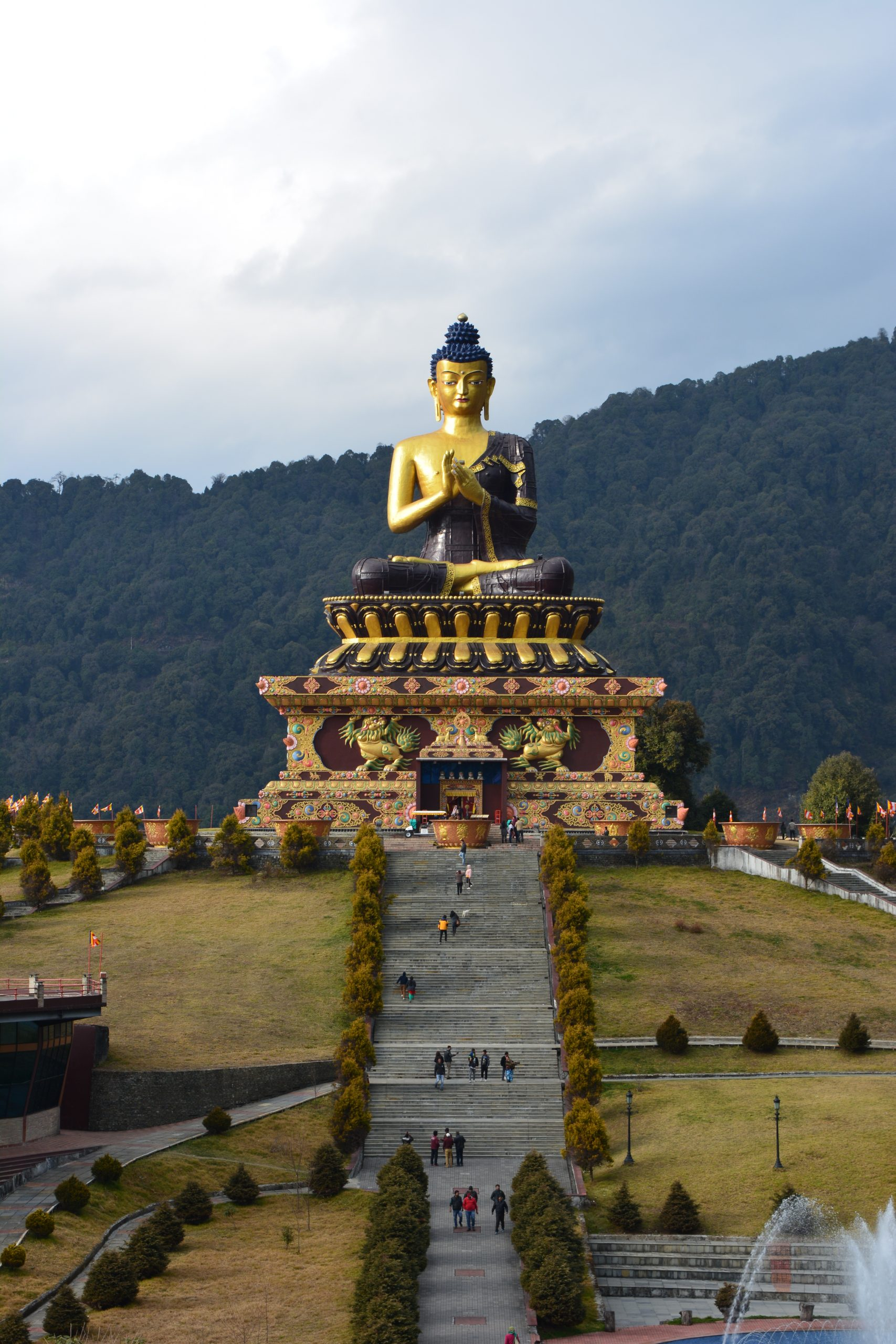 In extended old silk route tour Buddha Park can be cover