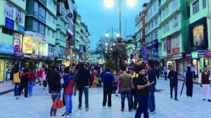 Mg Marg is the most busiest place in Sikkim