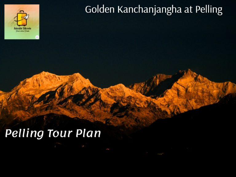 Enjoy the view of mighty Golden Kanchanjagha from Pelling