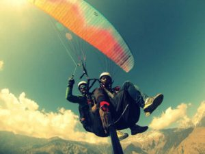 Enjoy Paragling during Silk Route Trip