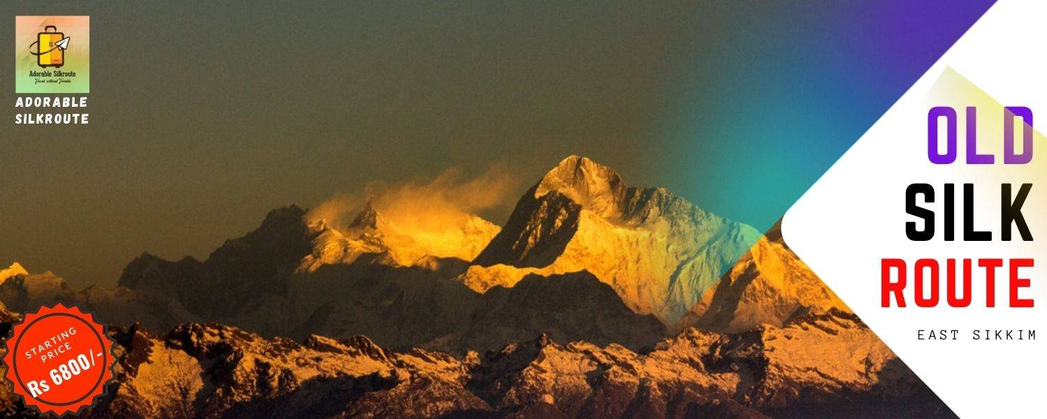 Need to lucky for experiencing golden kanchenjungha from Gangtok Silk Route.